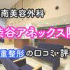湘南美容外科渋谷アネックス院の口コミ